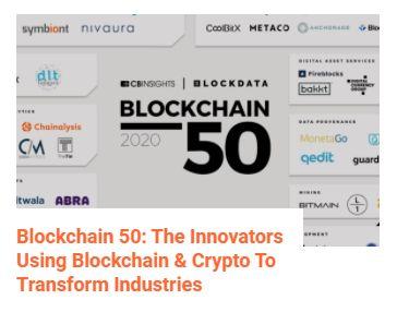 CB Insights Blockchain