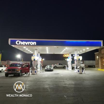 chevron lower carbon